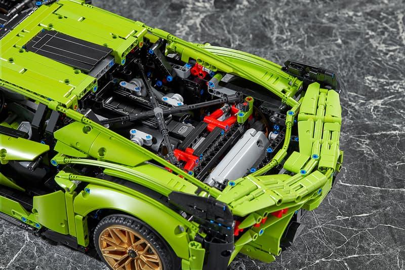 lego lamborghini automobili sian hypercar supercar hybrid scale model 3696 pieces release details buy cop purchase