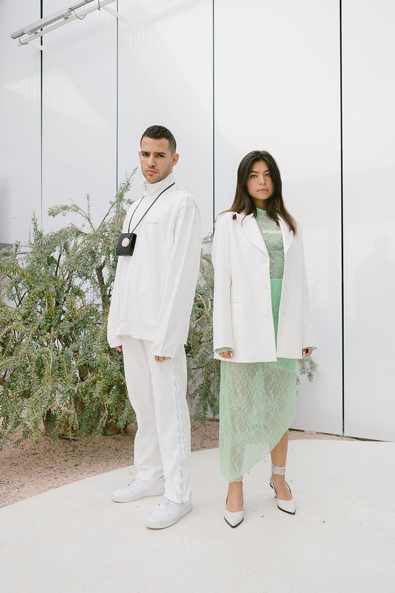 "Les Benjamins ""SEOUL to BUSAN"" Spring Summer 2020 SS20 Collection Bünyamin Aydin Augustin Parades Lookbook Release Information The 4 Rivers Path cycling-wear influenced ready-to-wear collection"