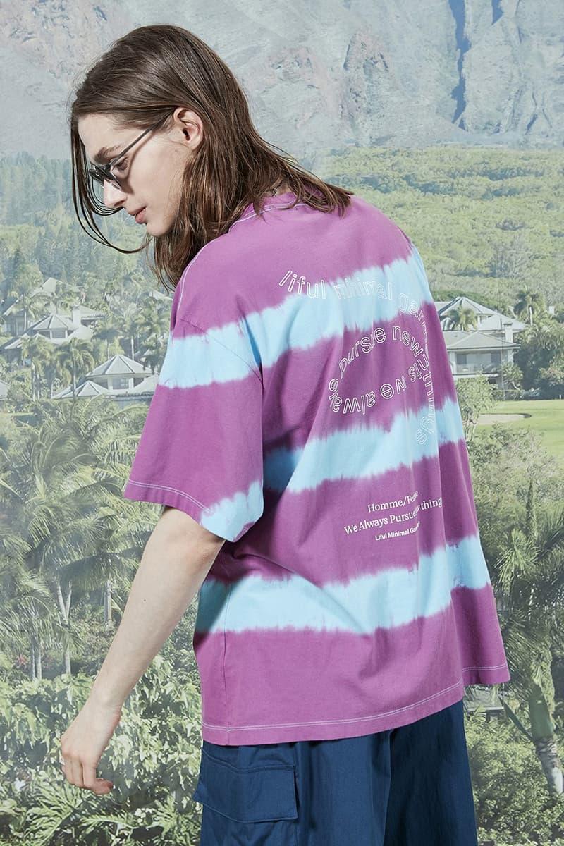 "LIFUL Summer 2020 ""'Life is Beautiful"" Lookbook collection ss20 korea"