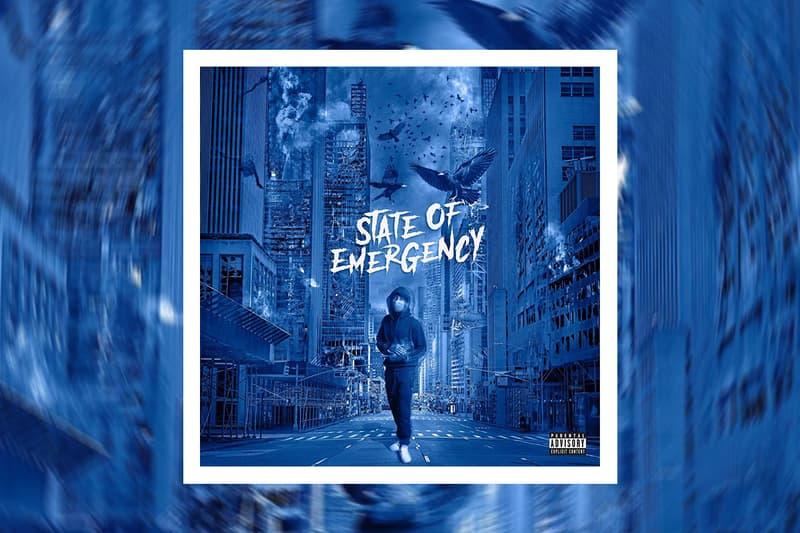 Lil Tjay 'State of Emergency' Mixtape Stream listen hip-hop rap fivio foreign pop smoke sheff g jay critch axl beats