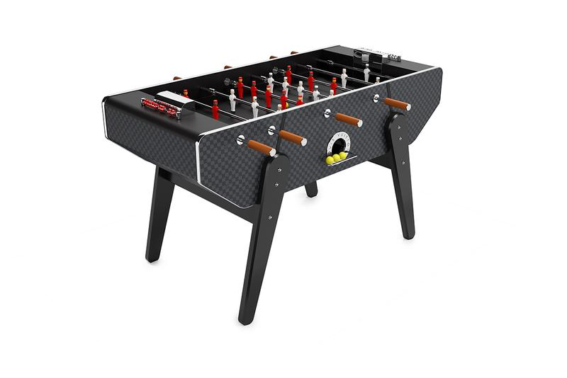 Louis Vuitton and the Art of Gaming: Le Babyfoot Football Table Homeware Game Traditional French Design Monogram made-to-order Eclipse Epi Leather Damier Graphite
