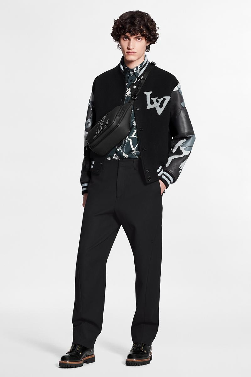 Louis Vuitton Pre-Collection FW20 Menswear Patterns leaf camouflage monogram camo fall winter 2020 virgil abloh printed bag