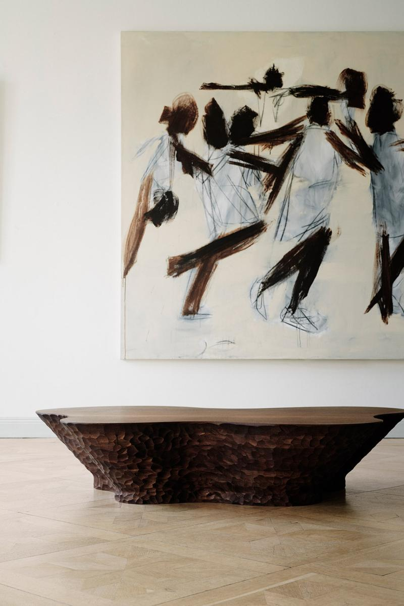 Louise Liljencrantz New Mahogany Wood Furniture The Invisible Collection Tables