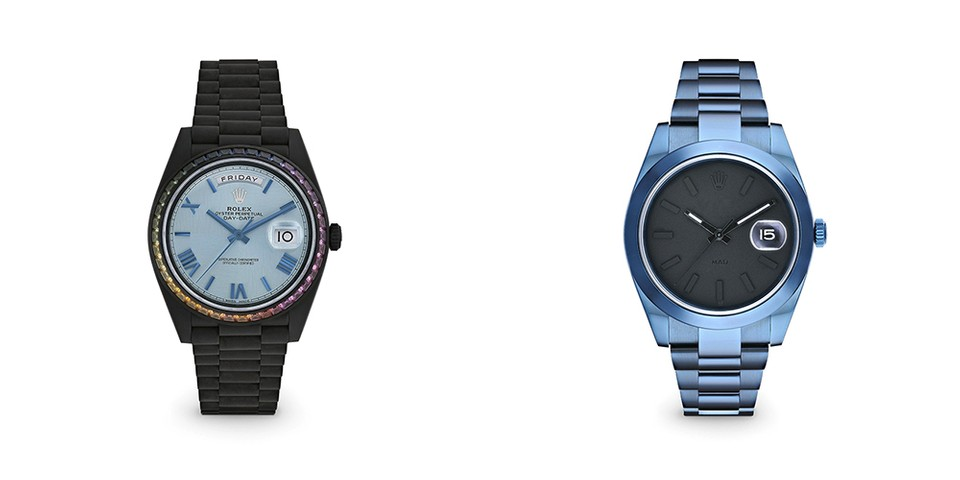 MAD Paris Drops Colorful Rolex Day-Date and Datejust 41 Watches