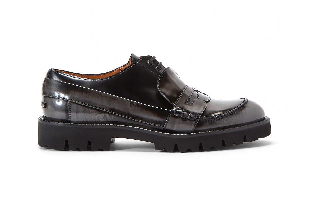 Maison Margiela Fusion Lace-Up Loafers