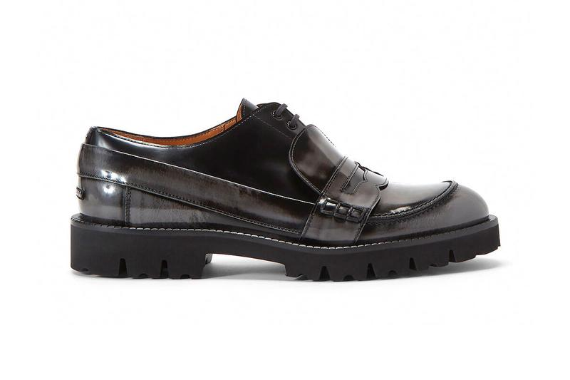 Maison Margiela Fusion Lace Up Loafers Gray menswear streetwear sneakers shoes footwear spring summer 2020 collection trainers runners kicks leather hybrid