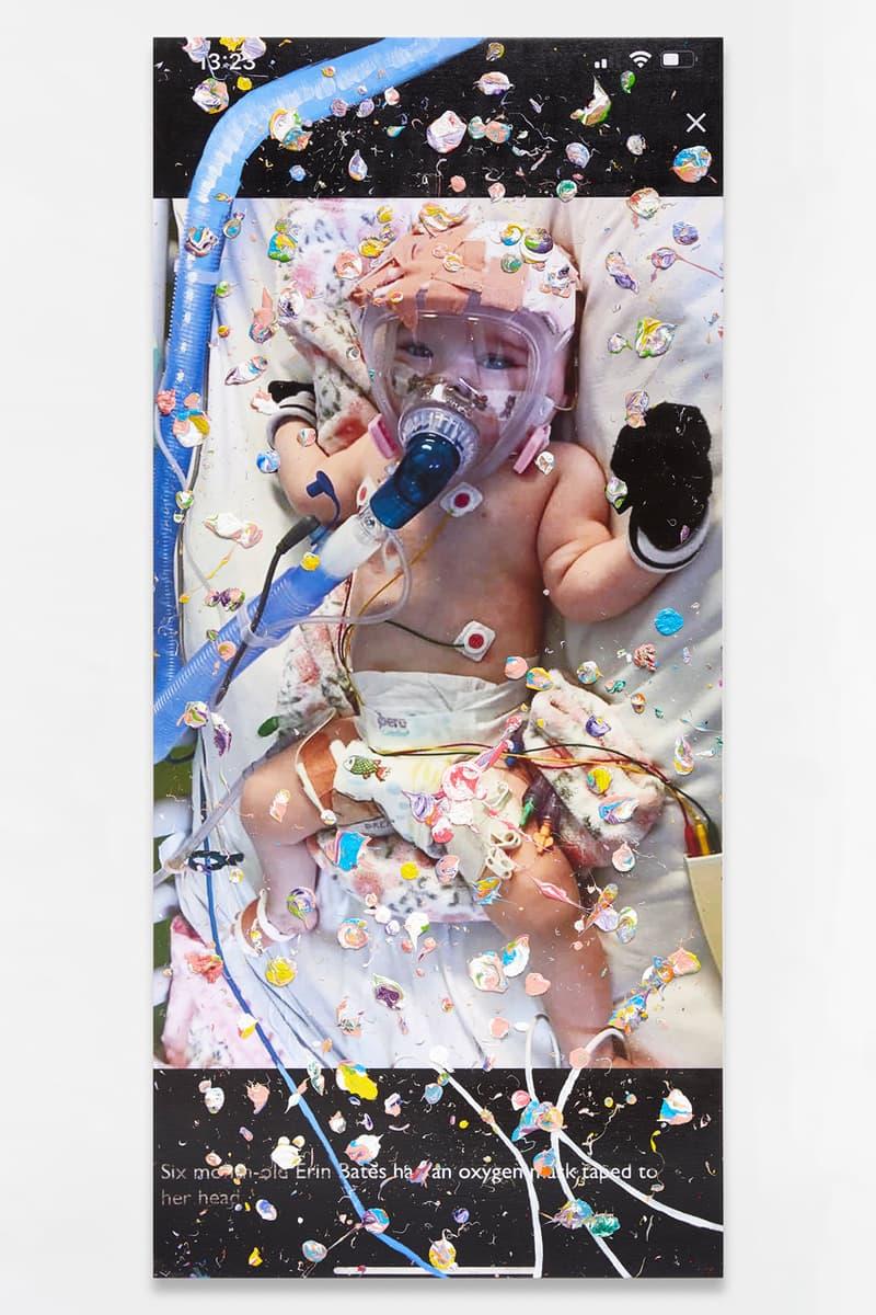marc quinn viral paintings coronavirus pandemic artworks young british artists