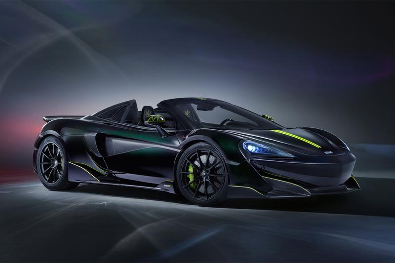 mclaren 600lt spider car racer racing sportscar supercar exclusive mso special operations design theme paint job makeover