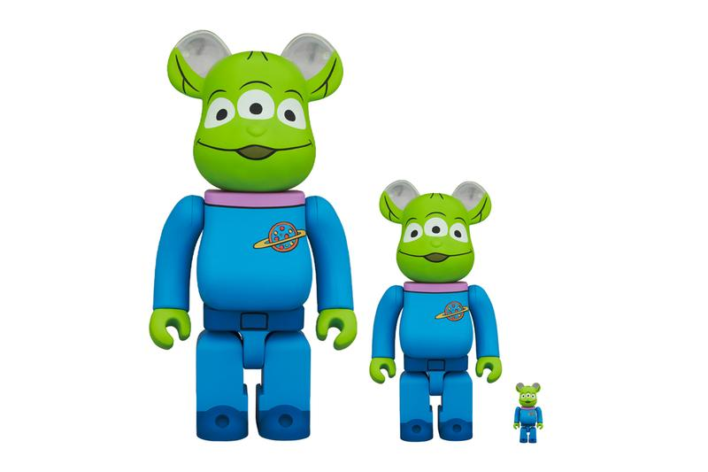 Medicom Toy Alien BEARBRICK 100 400 toys figures japanese toy story pixar animation character extraterrestrial movies franchise spring summer 2020 collection
