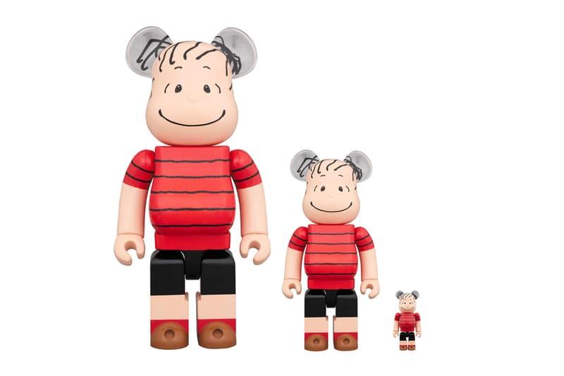 Medicom Toy Linus BEARBRICK 400 100 1000 figure toys models charlie brown linus van pelt peanuts david shulz comics animations cartoons illustration characters