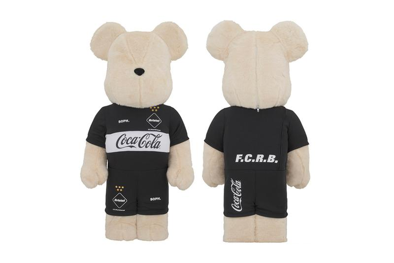 FC Real Bristol x Coca-Cola x Medicom Toy BEARBRICK spring summer 2020 collection cotton collectibles toys novelties figures interior furniture ornaments design