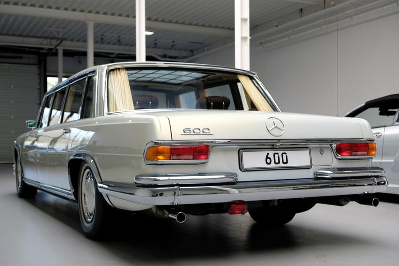 1975 mercedes benz 600 pullman w100 limousine vintage cars sale