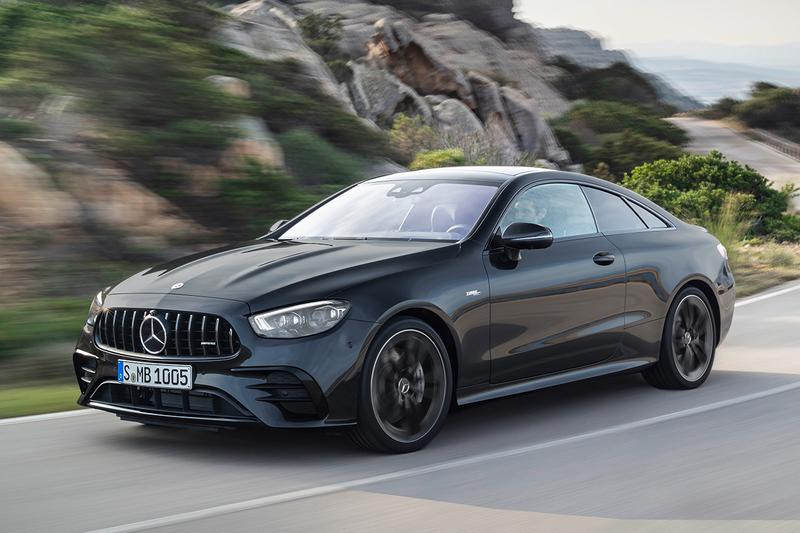 Mercedes-AMG E 53 4MATIC+ Coupé electrified 3.0-liter engine twin turbocharging 435 HP 520 Nm Torque Two Door Coupe Saloon Car Sportscar Release Information Closer Look 2020 New Update Styling Tuned Power