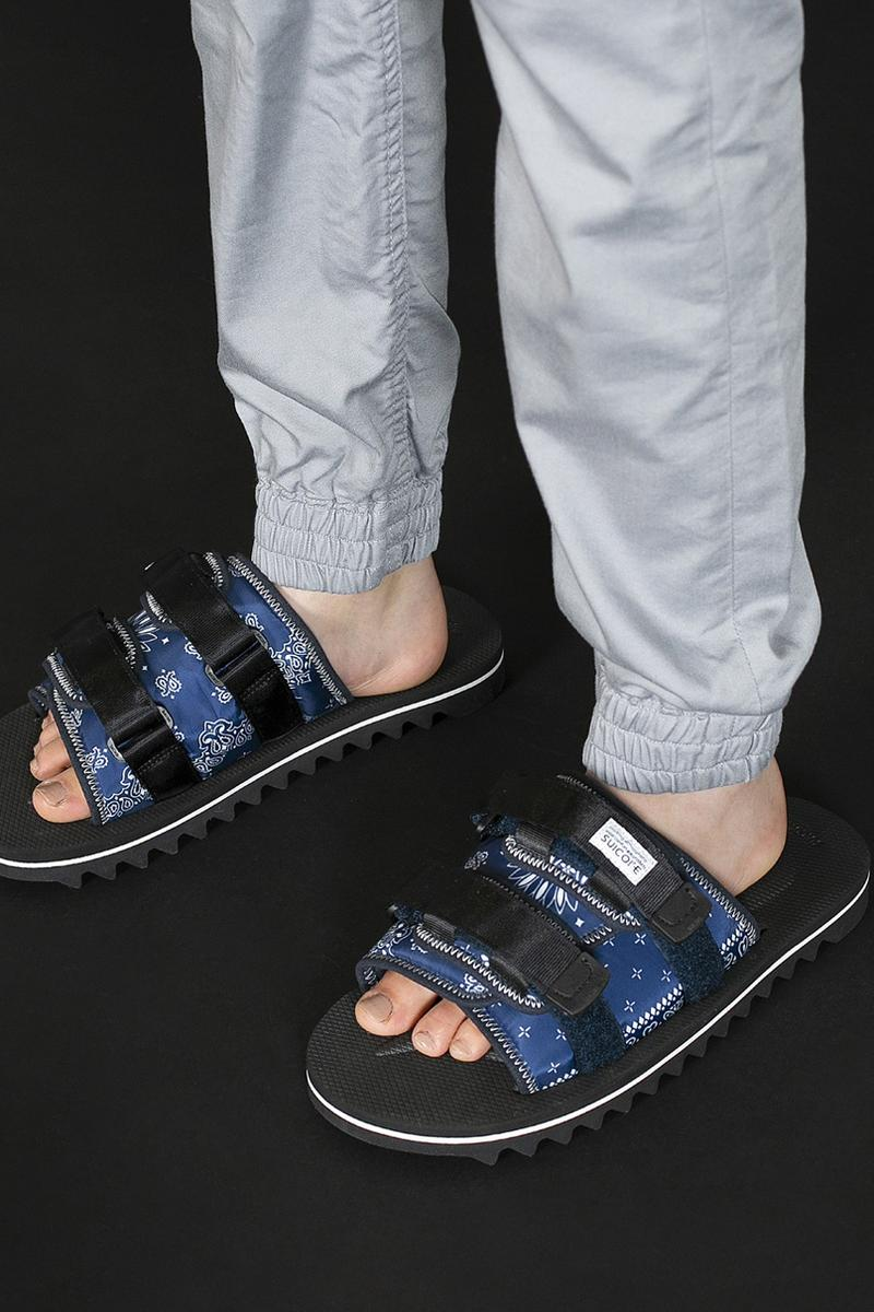 monkey time suicoke ss20 spring summer sandal collection moto bosee vmt 2 black silver blue white vibram paisley official release date info photos price store list
