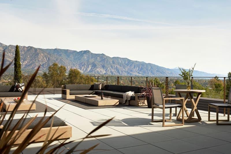 Montalba Architects LR2 House in Pasadena California Rectangular Volumes Rotated Series Angular Minimalist Concrete