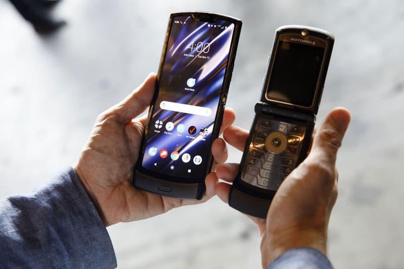 Motorola Razr 2 5G Fall Release Rumor folding screen flip mobile phone Snapdragon 765 CPU 8GB RAM 256GB storage 48MP rear 20MP front facing camera Android 10