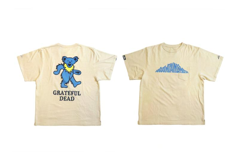 Grateful Dead x MOUNTAINSMITH Capsule Collection stealie deadhead music woodstock dancing bears