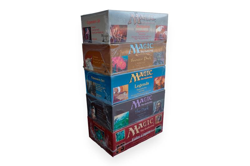 Mythic Markets Magic: The Gathering 94 Booster Box Set Purchase IPO info What is it How Money Antiquities Revised core Legends The Dark Fallen Empires Expansion Sets