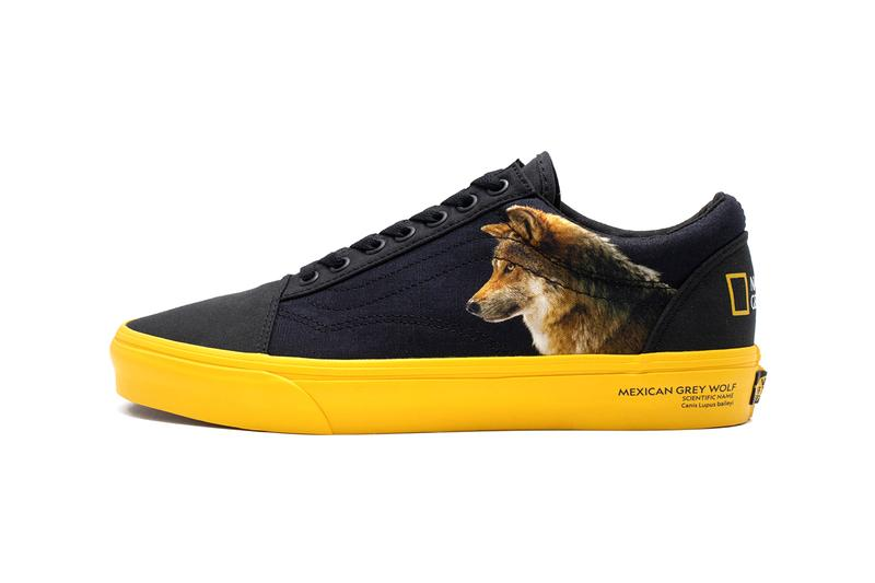 'National Geographic' x Vans Sneaker Pack Release Information Slip On Authentic Era Old Skool Sk8-Hi Closer Look First News Drop Date Footwear Skateboarding Vulcanized Sole Unit Animals Nature