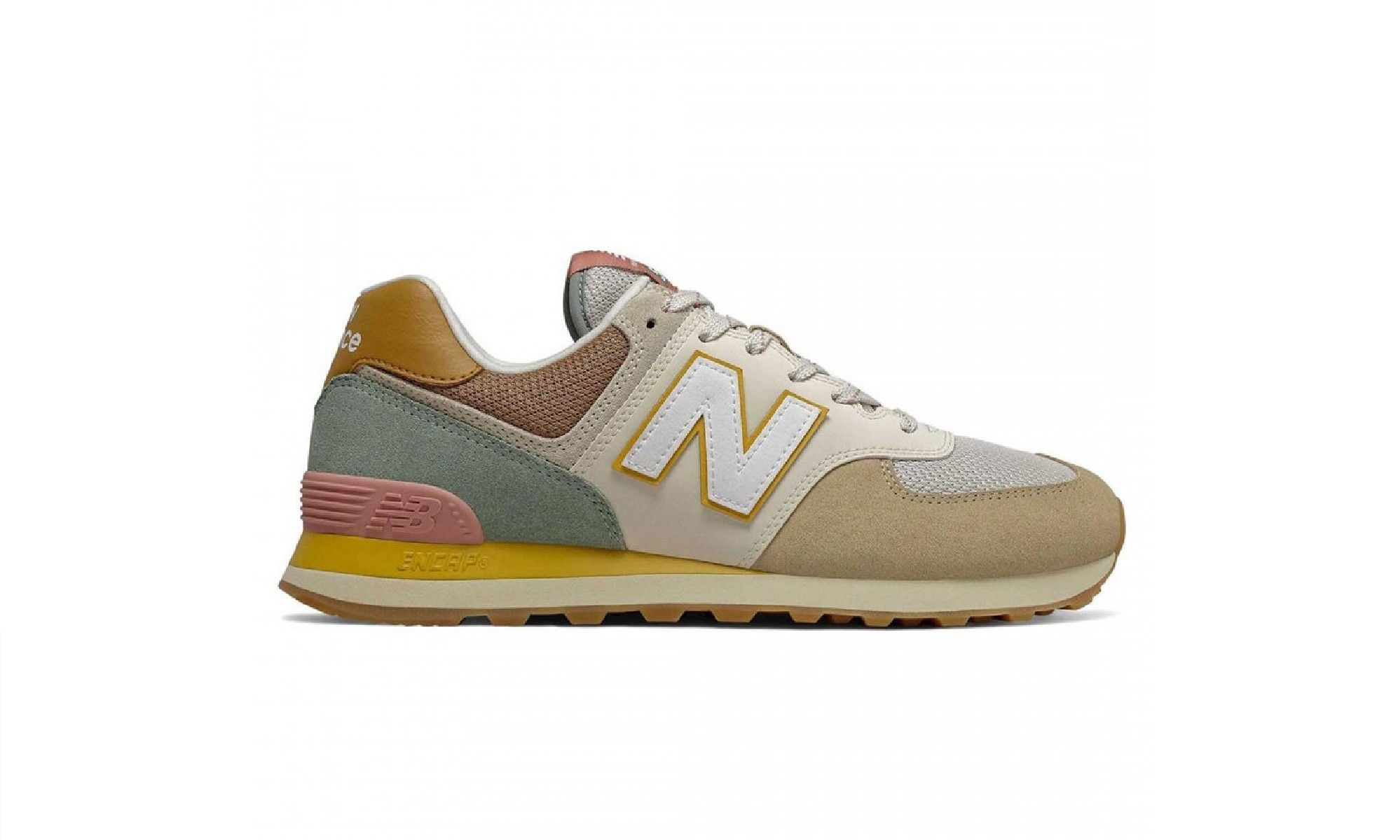 New Balance Drops 574 Sneaker in Brown
