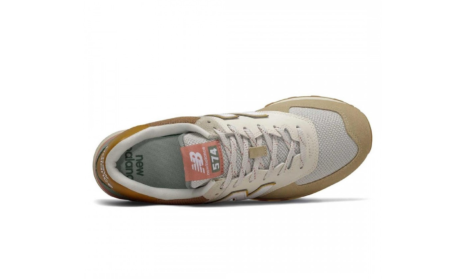 new balance 574 sneaker brown beige ML574SOT trainers drop