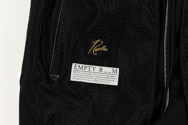 EMPTYROOM Archives NEEDLES Track Pants menswear streetwear nepenthes spring summer 2020 collection trousers sweats polyester butterfly keizo shimizu