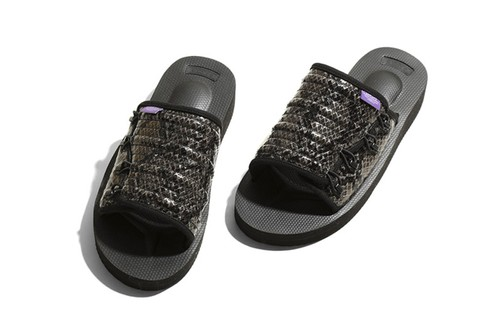 NEPENTHES and Suicoke Team up for Purple Label Sandals