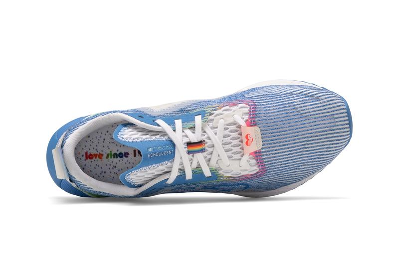 New Balance 2020 Pride Collection LGBTQ flag running gay parade colors rainbow Made in USA footwear