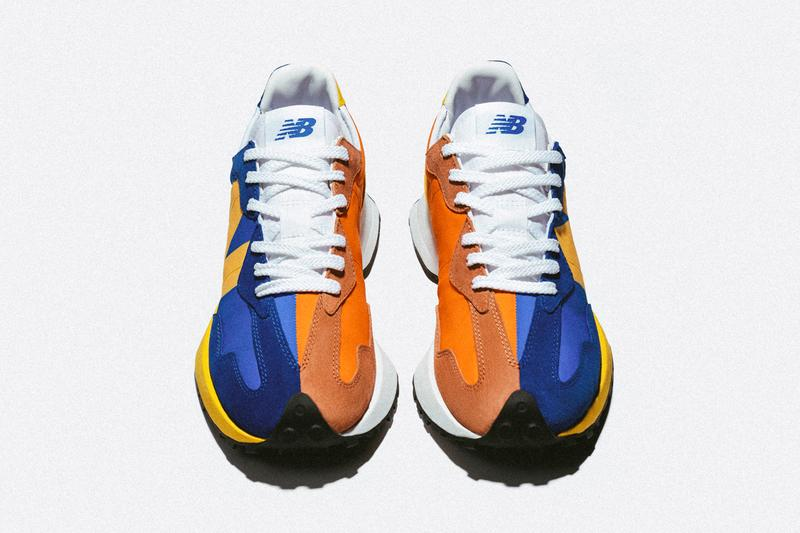 new balance 327 blue orange yellow grey white black pink release date info photos price