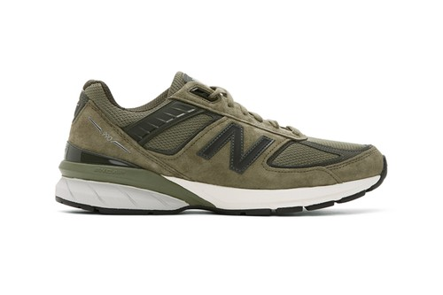 "New Balance's 990v5 Made in USA Receives Lush ""Covert Green"" Overhaul"