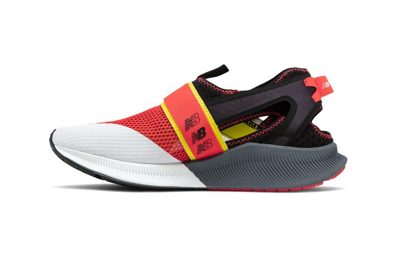new balance shandal sneaker shoe sandal hybrid black red white yellow grey official release date info photos price store list