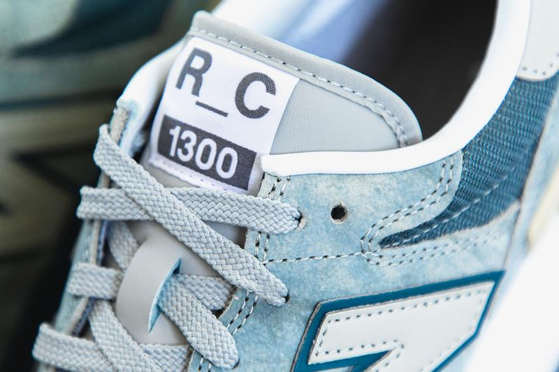 New balance tokyo design studio rc 1300 blue marble effect cream grey details release information buy cop purchase first look closer look
