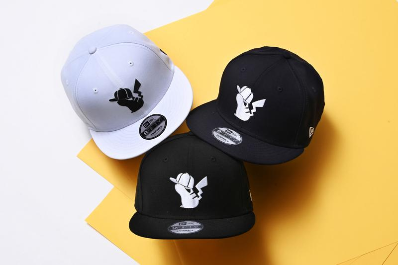 new era pokemon 59fifty hat apparel collection 2020 pikachu graphics t shirts shirt 9 fifty 9 forty hats