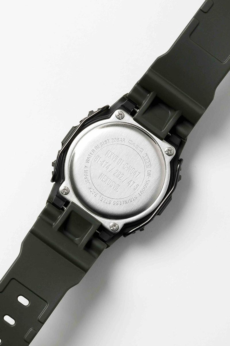 NEXUSVII G SHOCK Military Edition collab seven urban research exclusive DW 5600 inspired