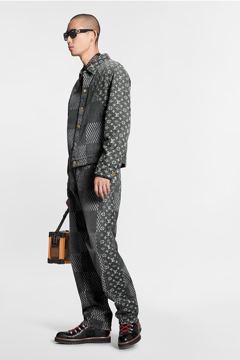 NIGO Virgil Abloh Louis Vuitton LV² Drop 1 Release Info Buy Price Denim Jeans Bags Necklace Human Made