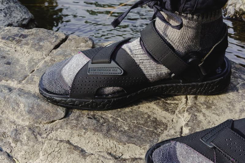 Nike ACG Air Deschutz spring summer SS20 Closer Look nrg vest polartec fleece gore-tex pullover jacket sandal sandals sneakers shoes 2020 1992 convertible cargo pants shorts knit grey socks purple black yellow green volt blue