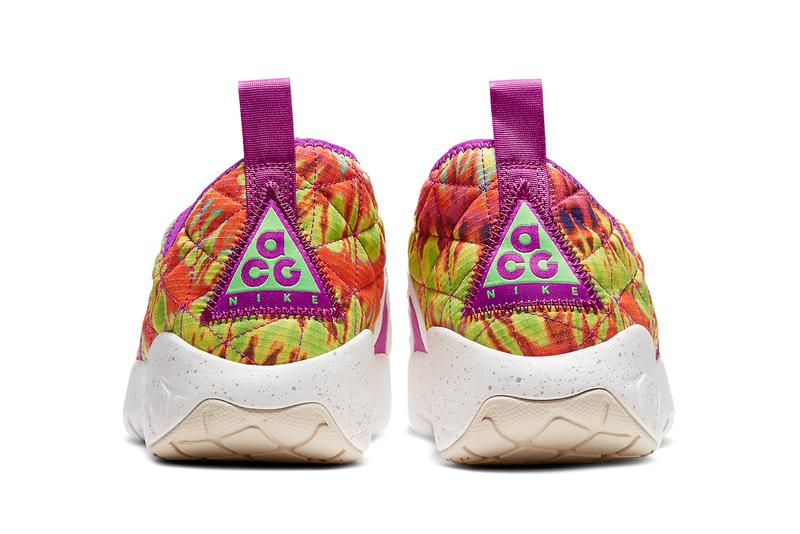 nike acg moc 3 0 tie dye CW2463 300 release date info photos price green strike vivid purple