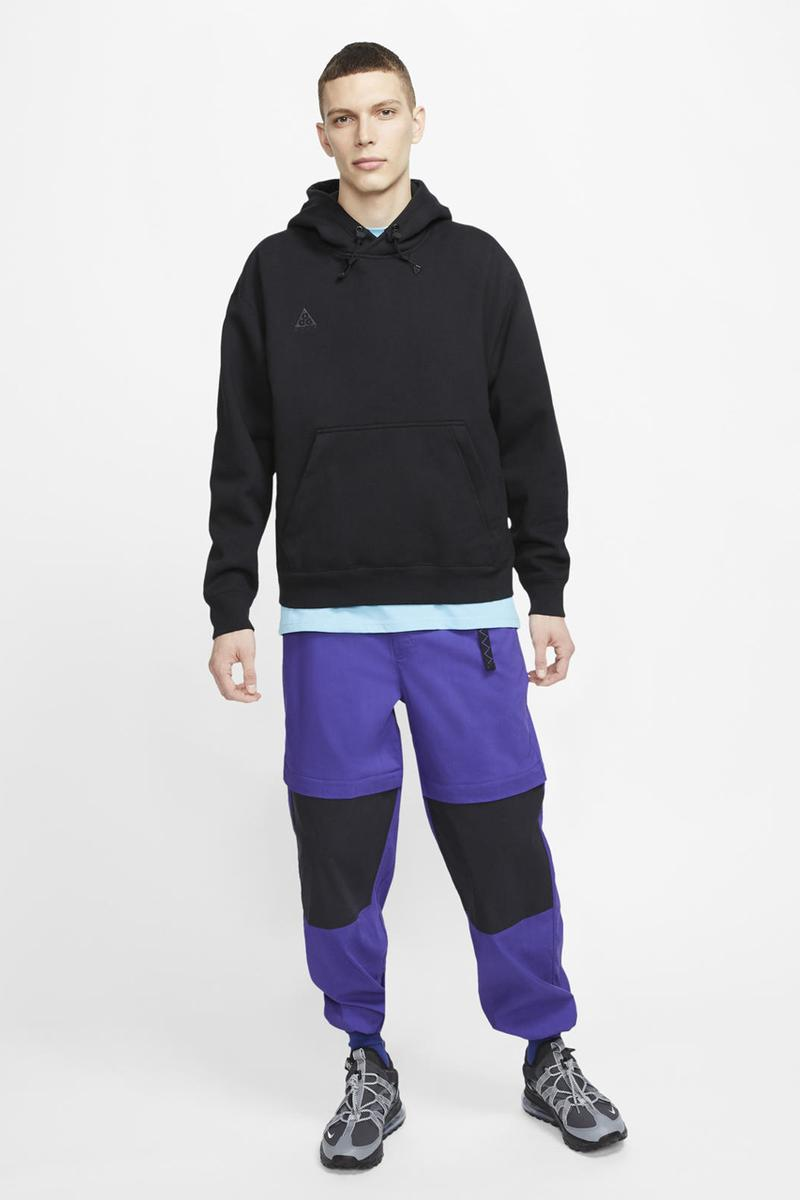 nike acg summer 2020 apparel collection japanese hiking jacket tights pants vests shirts release date info photos price