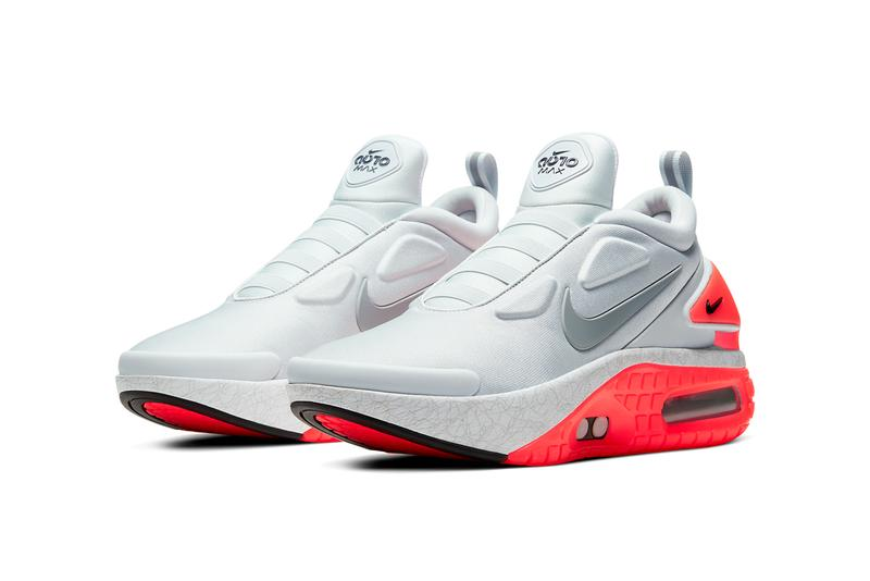 nike adapt auto max power lacing infrared pure platinum particle grey CW7274 002 release date info photos price