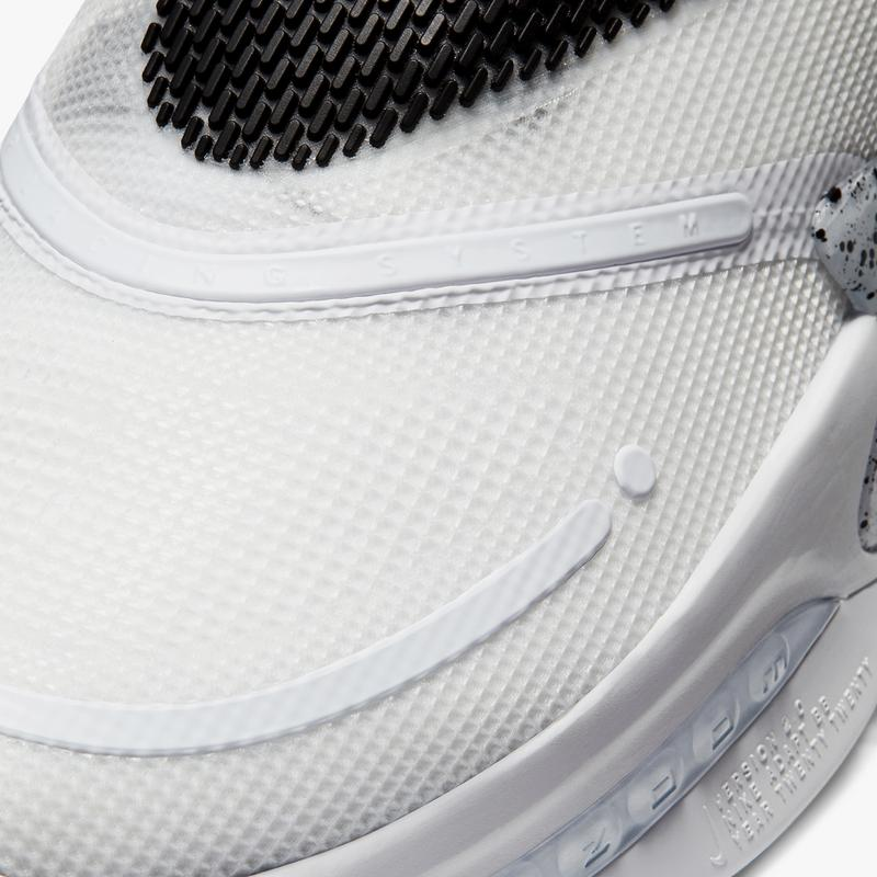 nike basketball adapt bb 2 0 oreo white black wolf grey speckles BQ5397 101 official release date info photos price store list