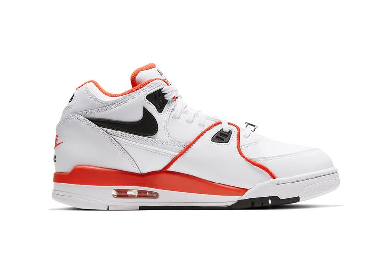 nike sportswear air flight 89 rucker park white team orange black CZ6097 100 official release date info photos price store list