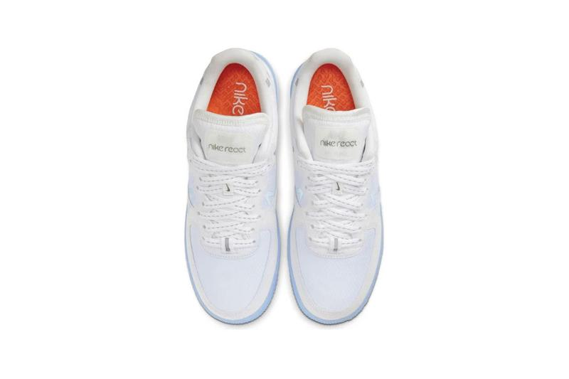 Nike Air Force 1 React D/MS/X QS White Light Bone Sail Rush Coral CQ8879-100 may 2020 summer release date colorway buy