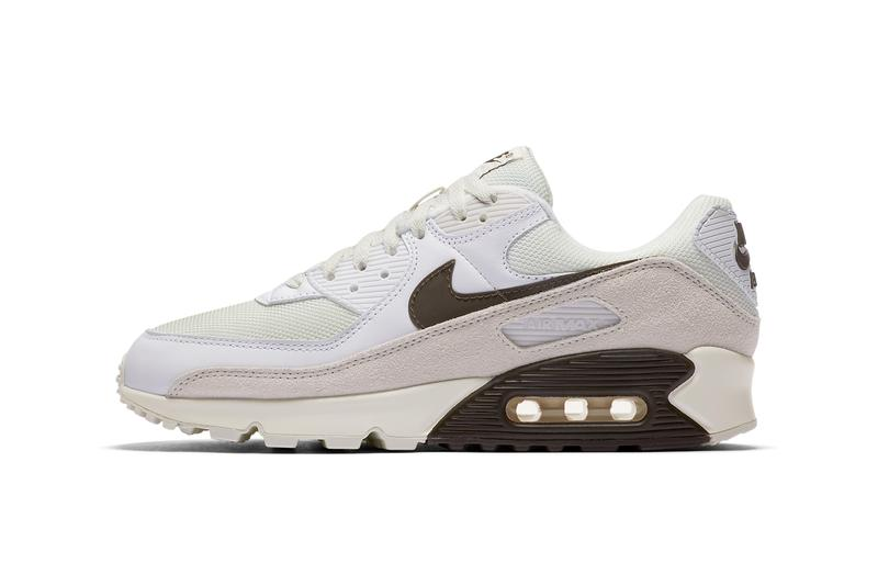 nike sportswear air max 90 baroque brown white sail vast grey CW7483 100 official release date info photos price store list