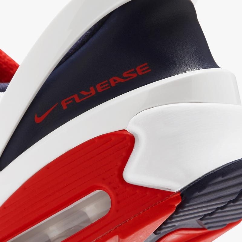 nike sportswear air max 90 flyease white blue obsidian university red CU0814 104 official release date info photos price store list