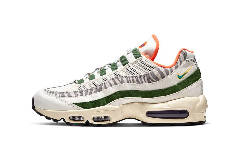 nike sportswear air max 95 era sail new forest green CZ9723 100 official release date info photos price store list
