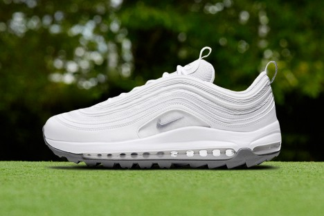 "The Nike Air Max 97 G Is Set to Arrive in ""Triple White"""