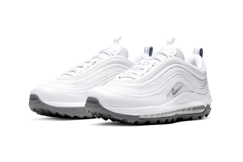 Nike Air Max 97 G Triple White Release Hypebeast