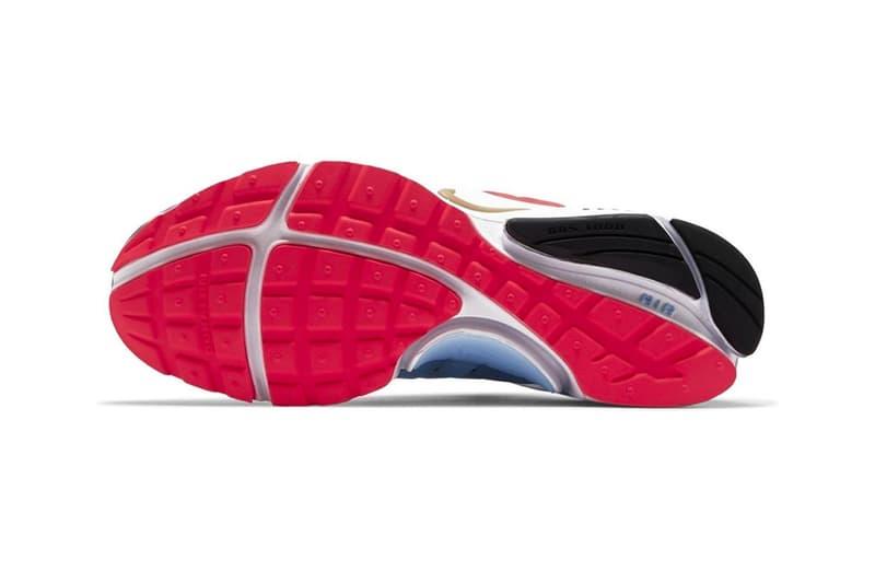 Nike Drops Air Presto South Korea Tiger Stripes Taegeukgi symbol 2020 Tokyo Olympics national soccer team uniform