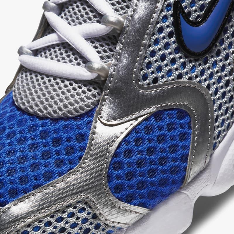 nike sportswear air zoom spiridon cage 2 team red lemon venom CJ1288 601 varsity royal blue silver CJ1288 002 official release date info photos price store list