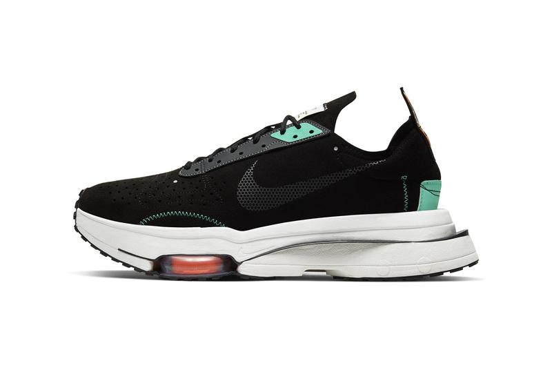 nike air zoom type n 354 white grey black teal yellow red official release date info photos price store list